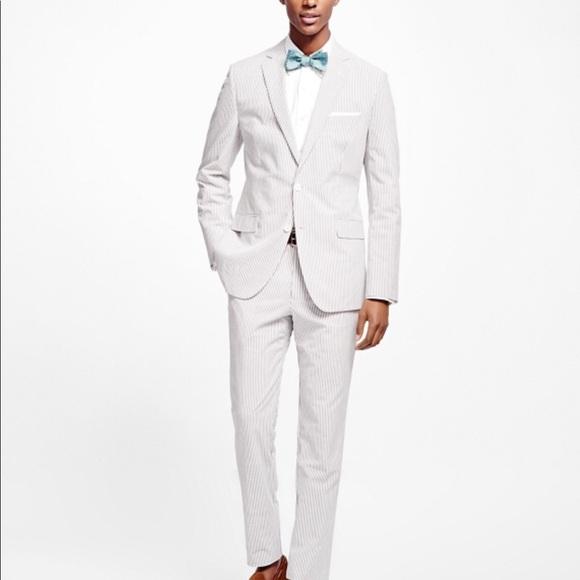 Brooks Brothers Suits Blazers 1818 Seersucker Suit Poshmark